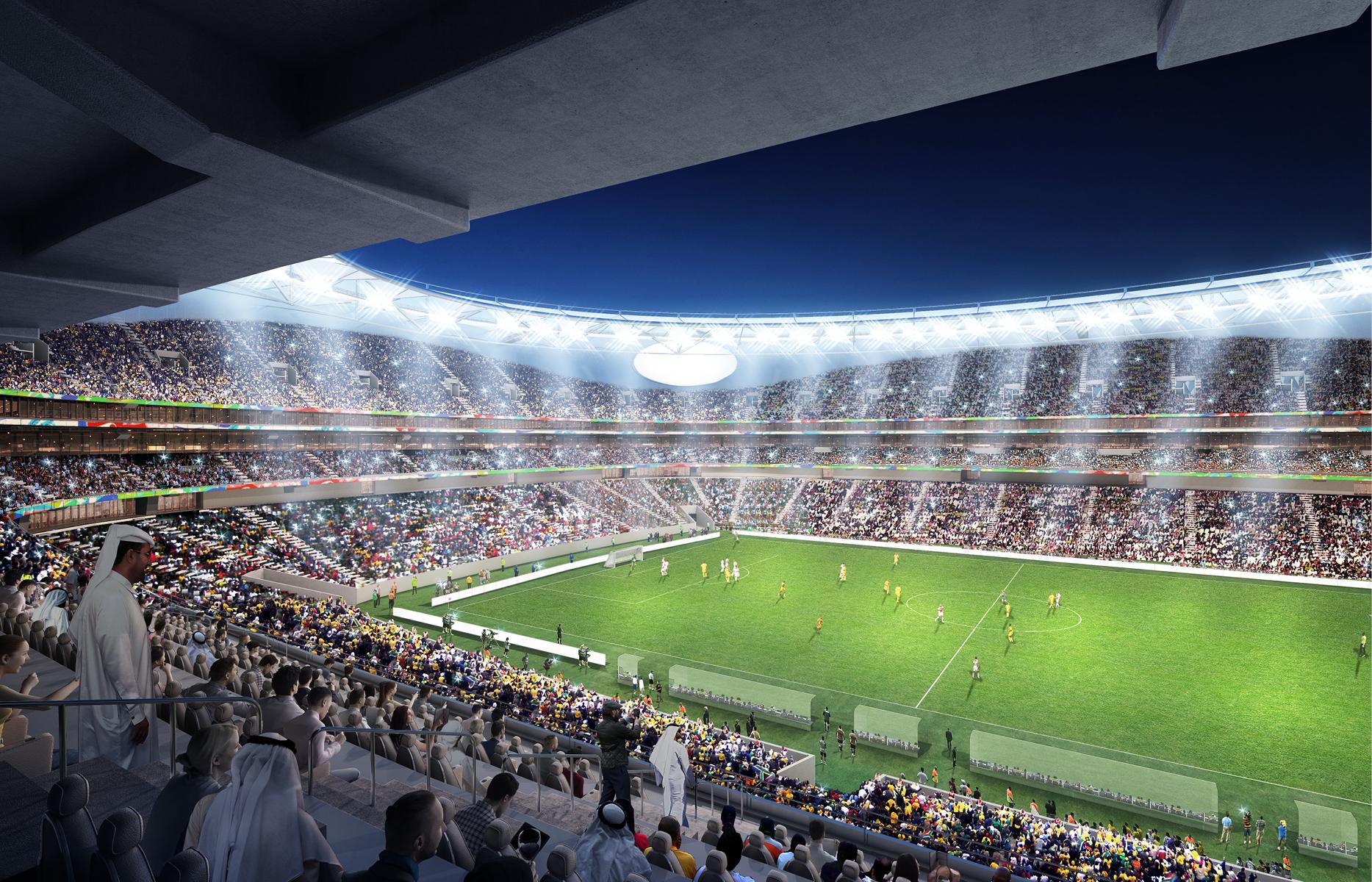 Стадион должен получить аккредитацию FIFA, которая позволит задействовать арену в качестве запасной для проведения любых международных матчей. Это означает, что Стадион Мохаммеда бин Рашидасможет принимать матчи, в экстренном порядке перенесенные из других городов