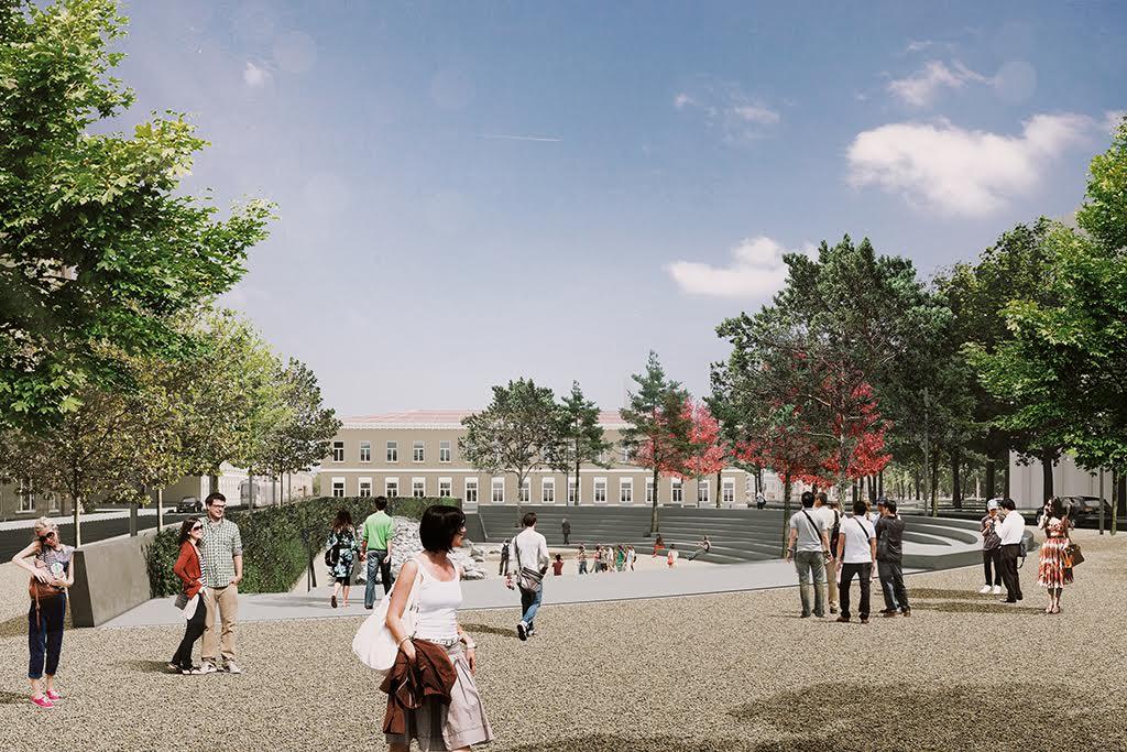 Проект амфитеатра наХохловке