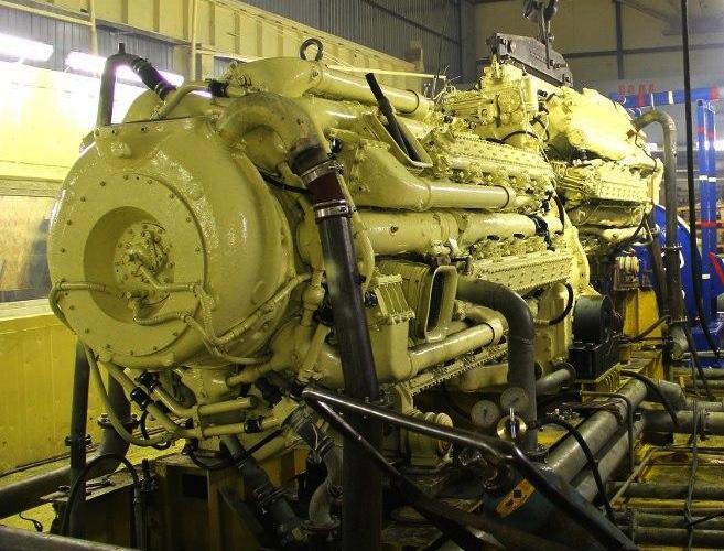 Двигатель для малых ракетных катеров проекта 22800 «Каракурт»