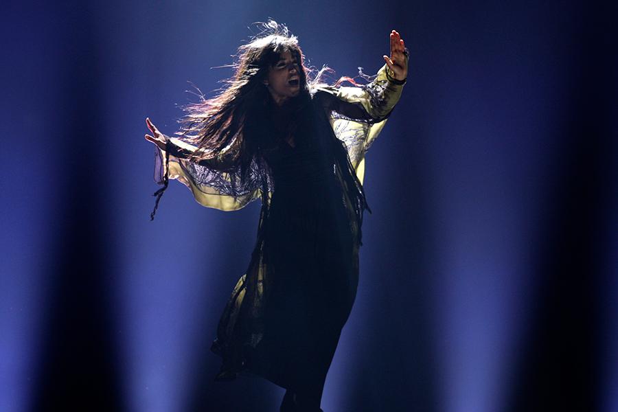 Победительница «Евровидения-2012» Лорин (Швеция)