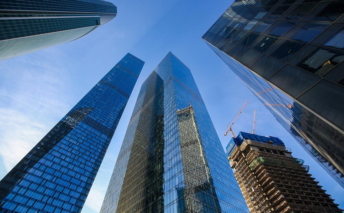 Комплекс зданий«Око» в «Москва-Сити»