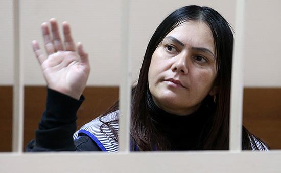 Гражданка Узбекистана Гюльчехра Бобокулова в Пресненском суде