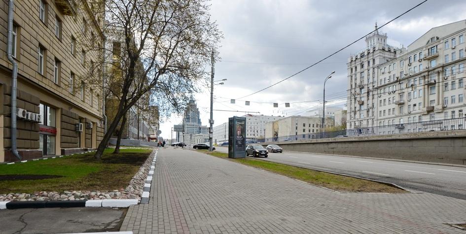 Благоустройство на Садово-Триумфальной улице