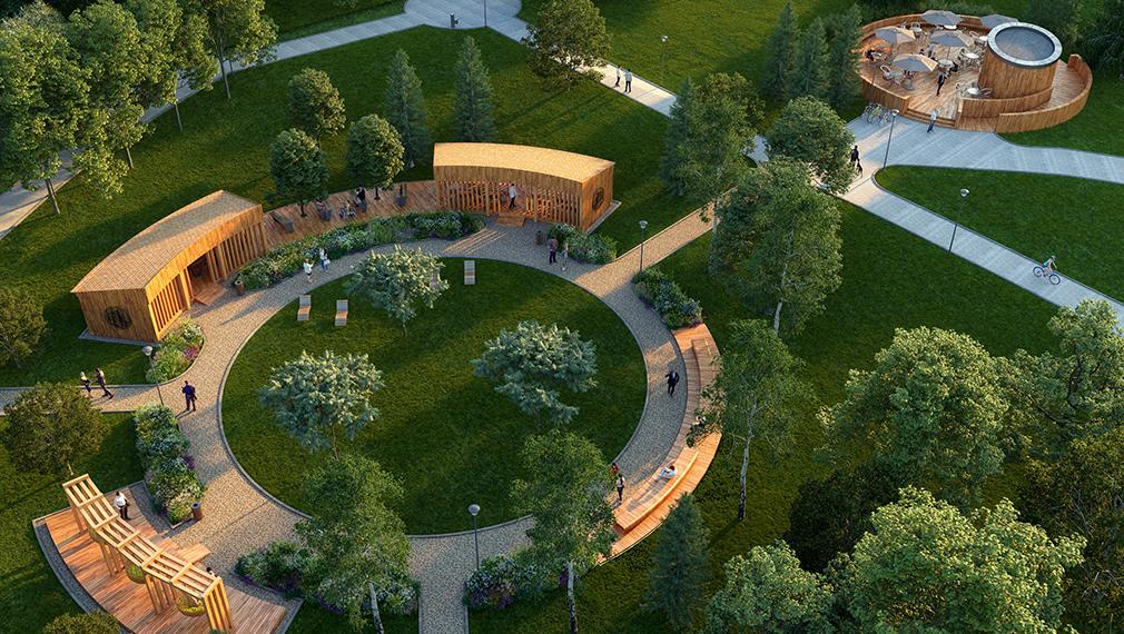Проект благоустройства парка