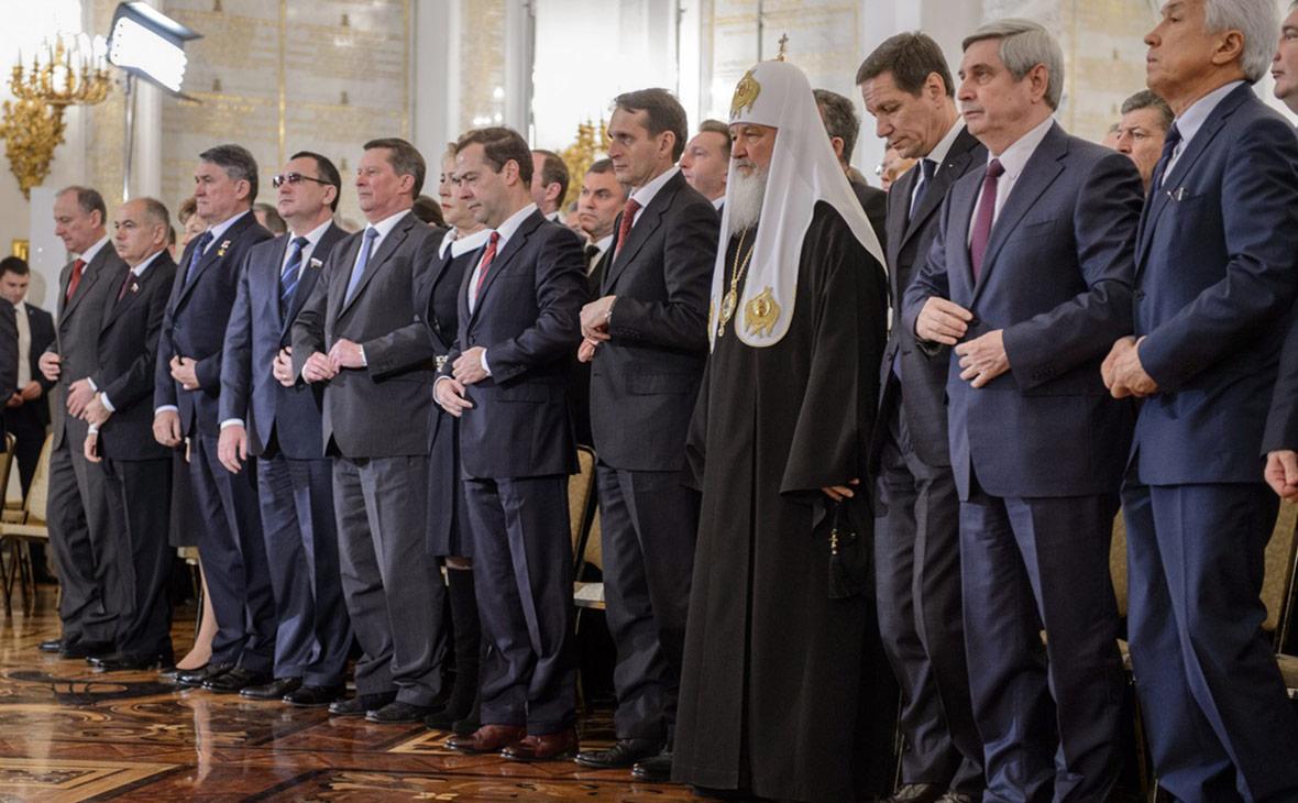 Перед ежегодным посланием президента РоссииФедеральному собранию. Декабрь 2015 года