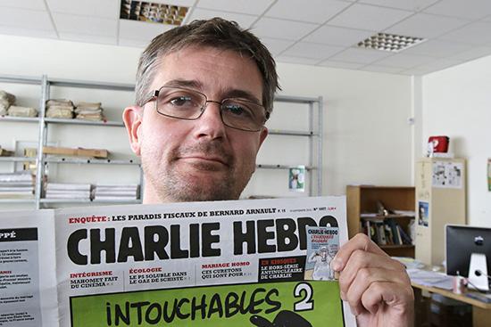 Главный редактор журнала Charlie Hebdo Стефан Шарбонье (Charb)