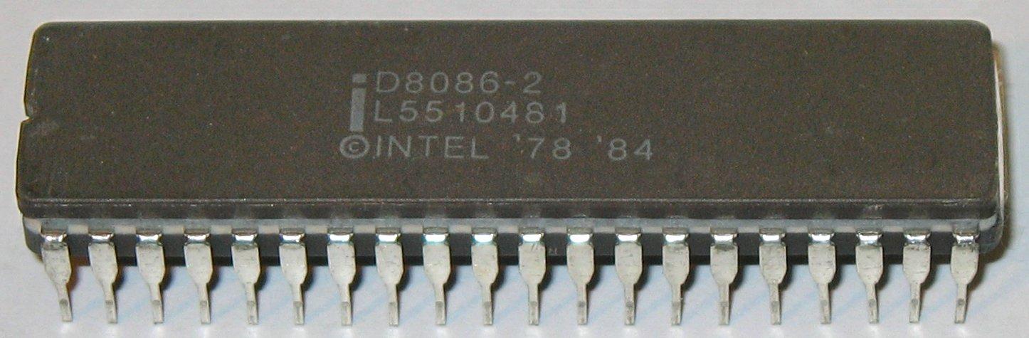 Процессор Intel 8086, 1978 год