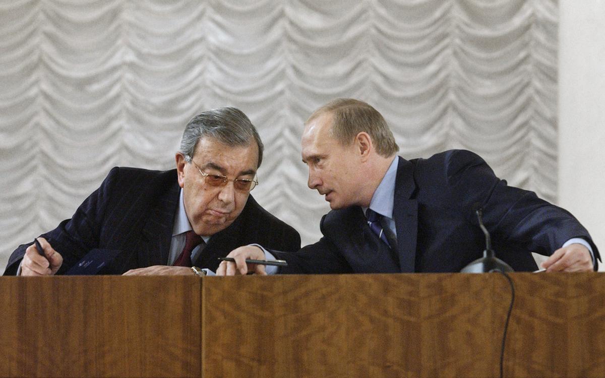 Дьяченко рассказал о выборе Ельциным преемника между Примаковым и Путиным  :: Политика :: РБК
