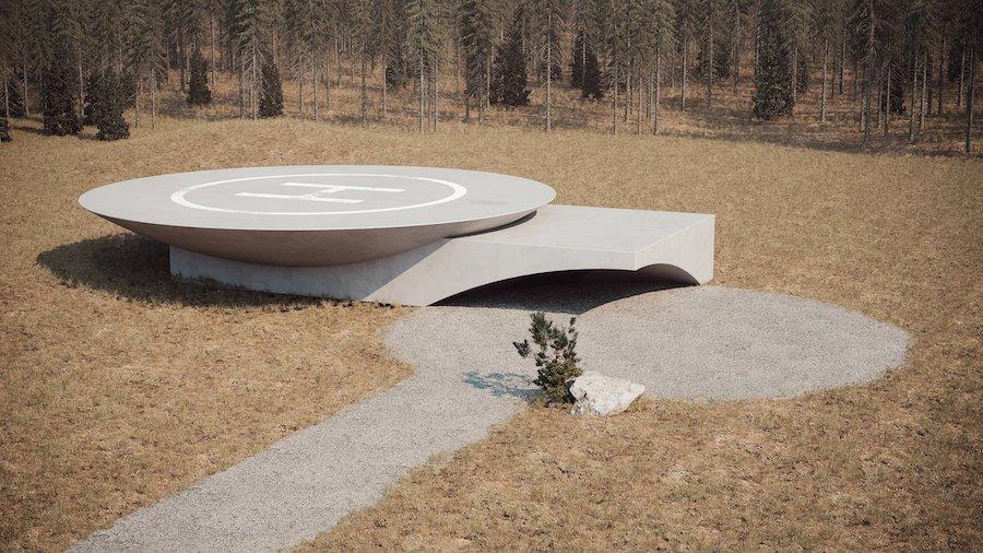 «Подземный дом Plan B»