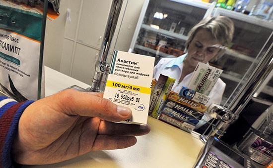 Медицинский препарат «Авастин» водной изгородских аптек