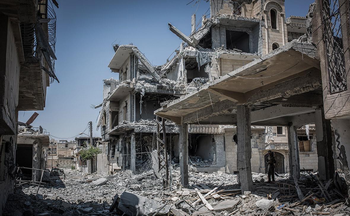 Ситуация в сирийском городе Ракке