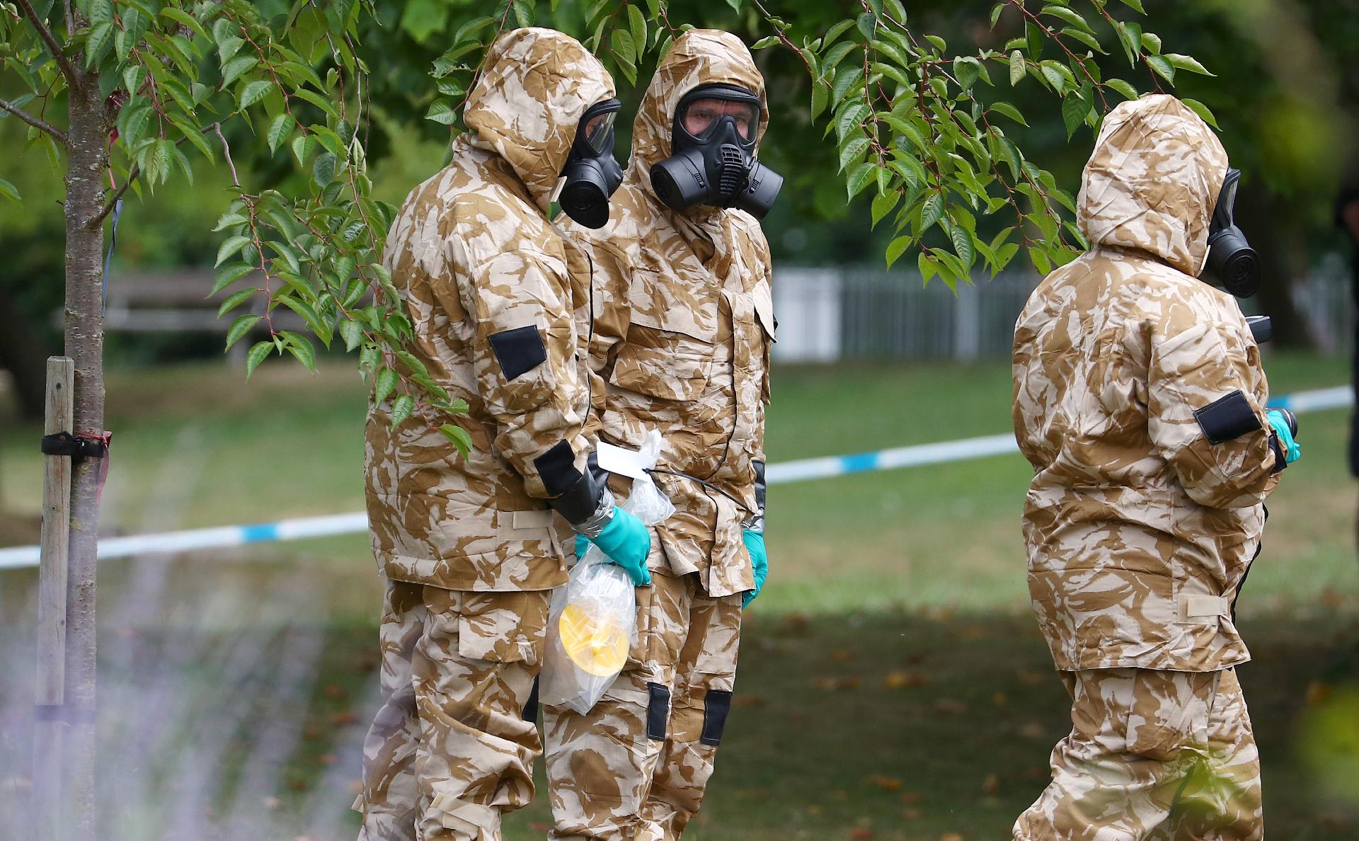 Британские спецслужбы после отравления в Солсбери