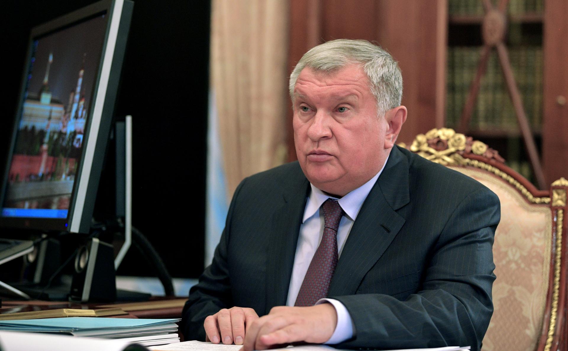Главный исполнительный директор ПАО «НК «Роснефть» Игорь Сечин
