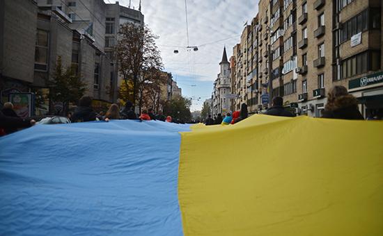 На улицах Киева