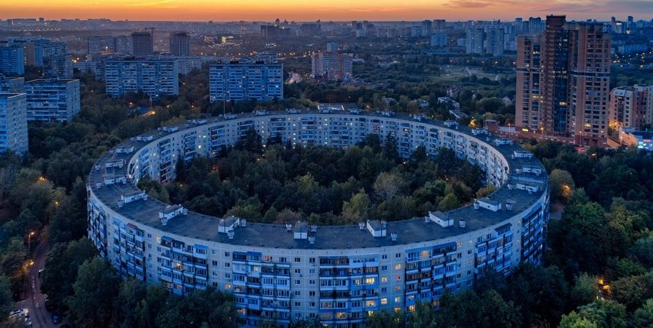 Вид на Очаково-Матвеевское