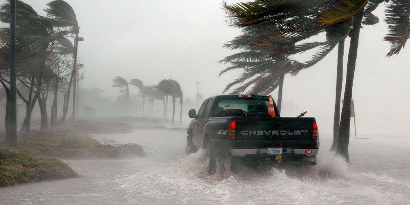 Ураган во Флориде, США