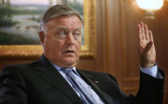 Глава ОАО «Российские железные дороги» Владимир Якунин