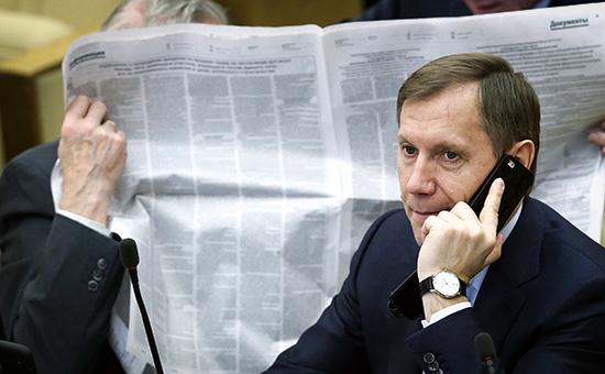 Председатель комитета Госдумы по экономполитике Игорь Руденский