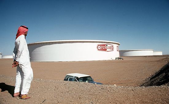 Нефтехранилища в Саудовской Аравии