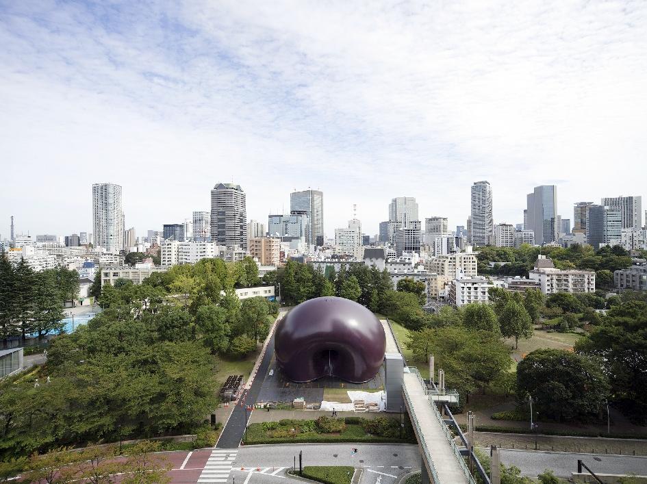 Временный концертный зал Ark Nova в Мацусиме(2013)