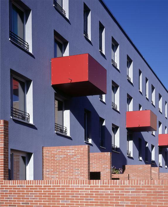 Цветные балконы