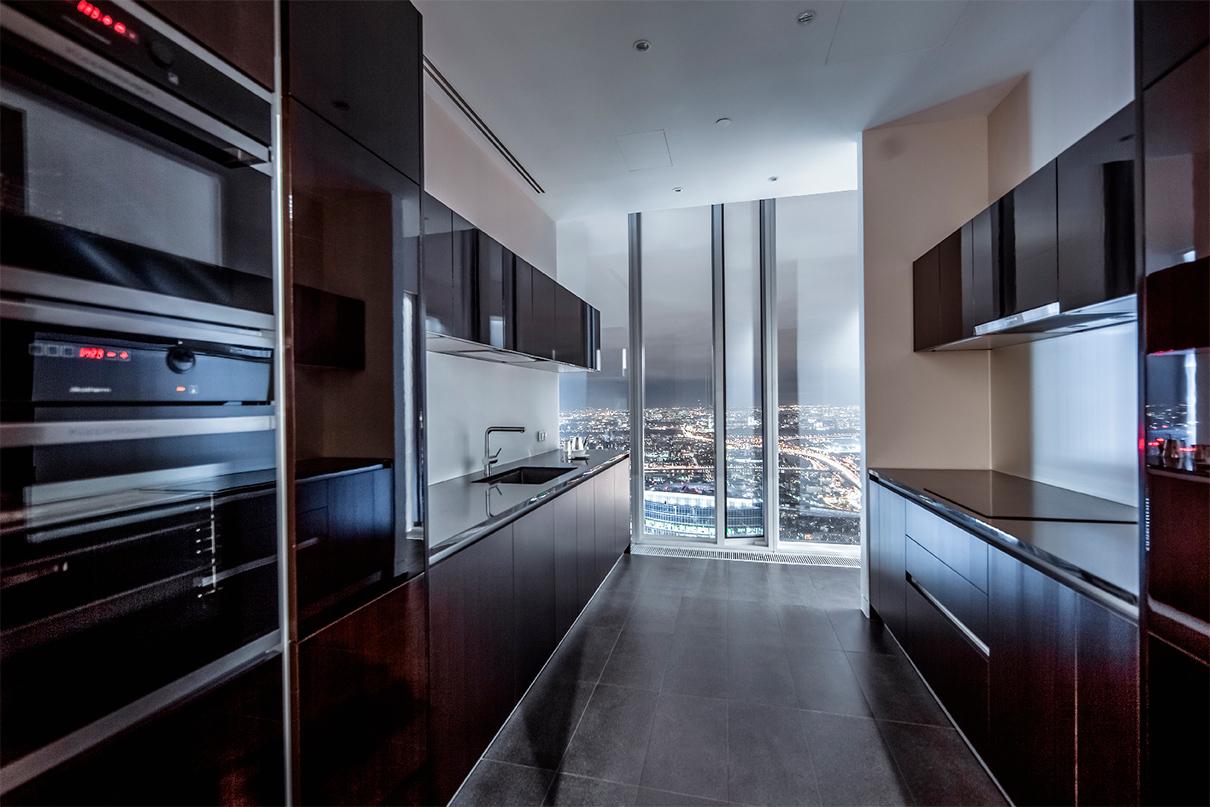 ОКО  Этаж: 81-й Площадь: 294,6 кв. м Цена: 196,4 млн руб. ($3,1 млн)