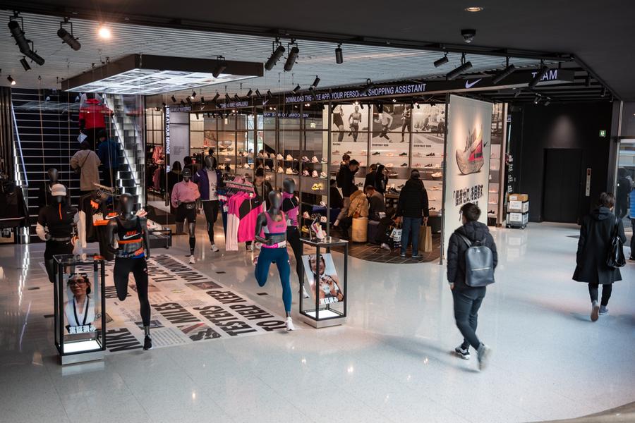 Флагманский магазин Nike в Токио, Япония
