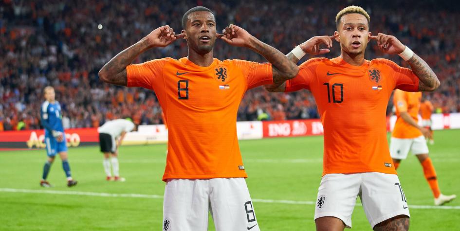 Сборная Голландии разгромила Германию в матче Лиги наций :: Футбол :: РБК Спорт