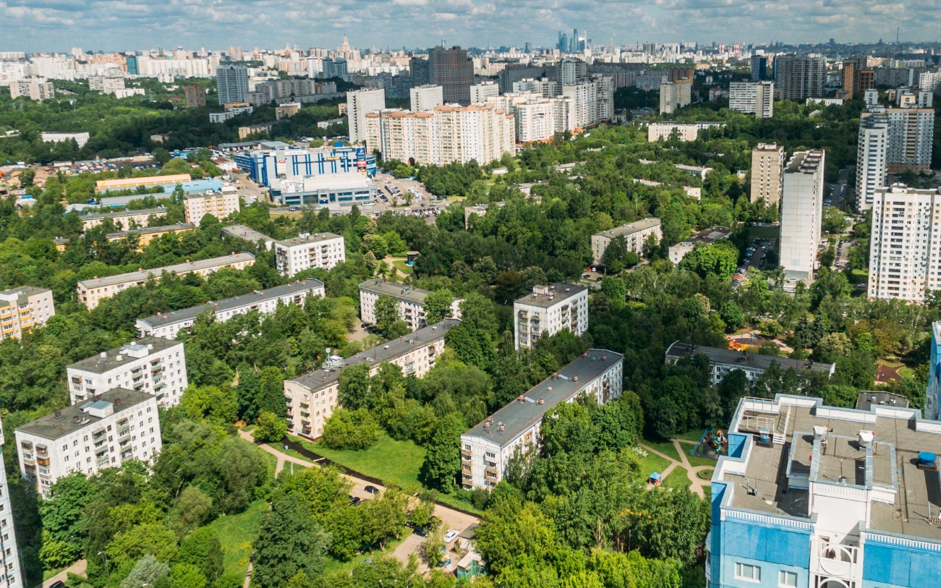 Район Зюзино в Москве