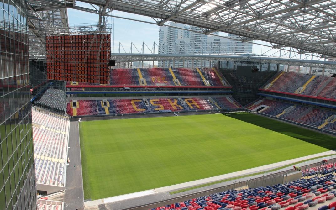 Во время чемпионата мира по футболу 2018 года в России «ЦСКА Арена» станет тренировочной площадкой для команд — участниц турнира. В остальное время стадион останется домашним полем для футбольного клуба ЦСКА