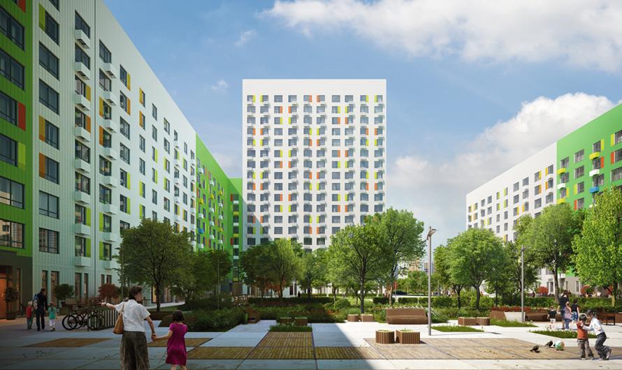 Для строительства новых домов будут применяться трехслойные энергоэффективные панели разных цветов