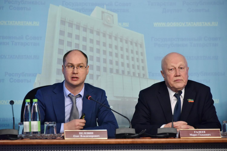 замминистра экономики РТ Олег Пелевин и депутат Госсовета Марат Галеев