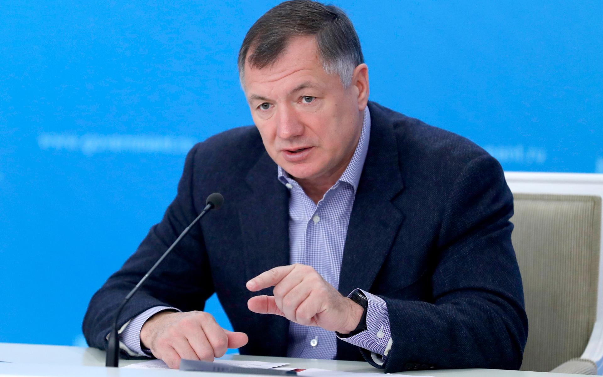 Вице-премьер России Марат Хуснуллин