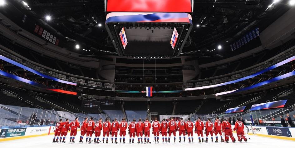 Лучшие моменты матча Россия — США на молодежном ЧМ по хоккею.  Видео :: Хоккей :: РБК Спорт
