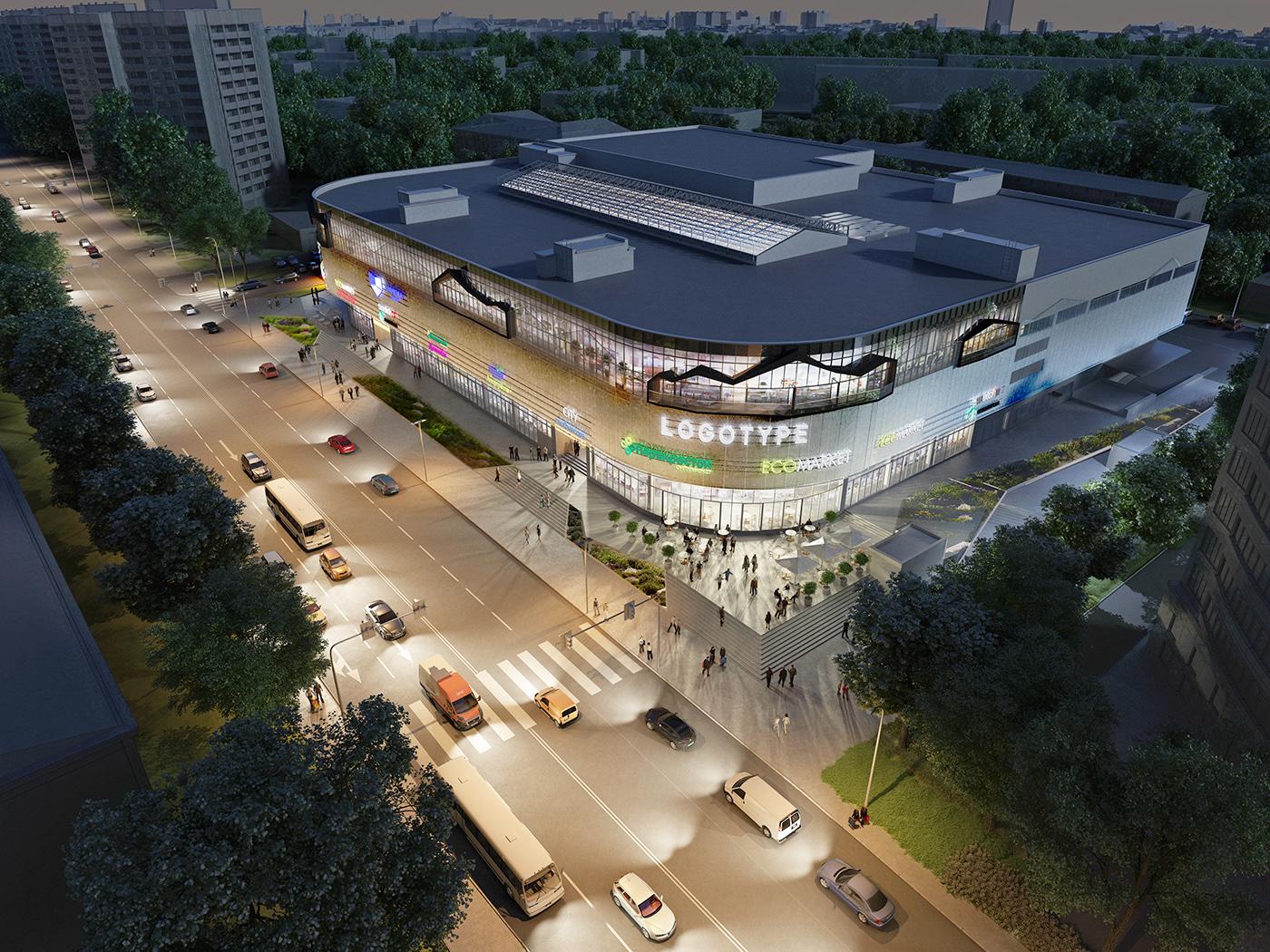 Здание торгового центра расположено на земельном участке площадью свыше 10 тыс. кв. м, указано на странице проекта на сайте Blank Architects. В «Пятой Авеню» будет три наземных и два подземных этажа общей площадью 18,3 тыс. кв. м, а также балкон-терраса площадью 1,2 тыс. кв. м по периметру фасада