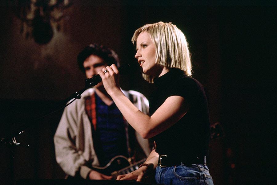 Выступление The Cranberries 25 февраля 1995 года