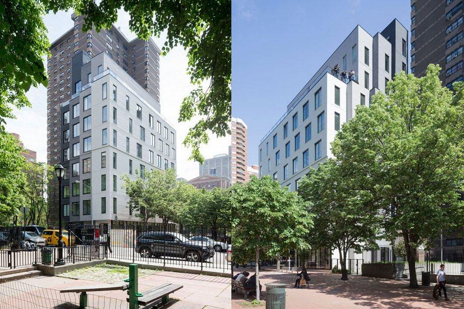 Архитекторы называют получившуюся многоэтажку «микрокосмом»: авторы уверены, чтомодульная конструкция Carmel Place всочетании снейтральным экстерьером позволяет сделать проект типовым ивписать дом влюбую сложившуюся застройку