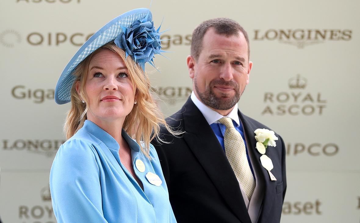 Питер Филлипс с женой Отам