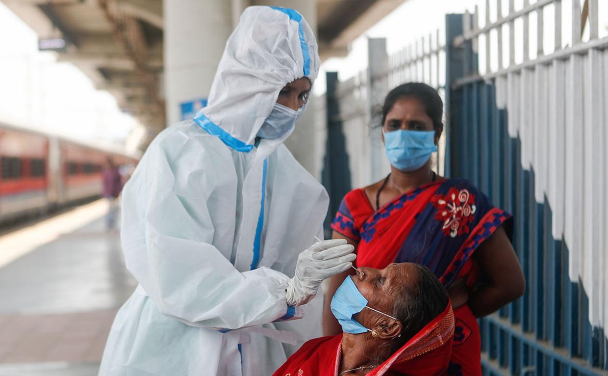Индия установила мировой рекорд по числу заразившихся COVID-19 за сутки