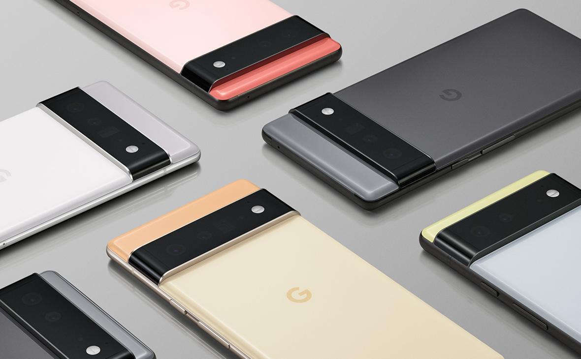 Смартфоны Pixel 6