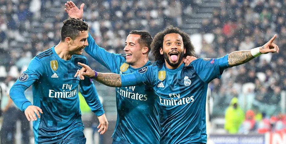 «Реал» разгромил «Ювентус» в четвертьфинале Лиги чемпионов
