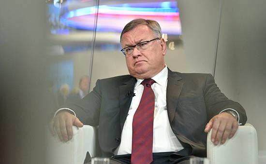 Президент —председатель правления банка ВТБ Андрей Костин