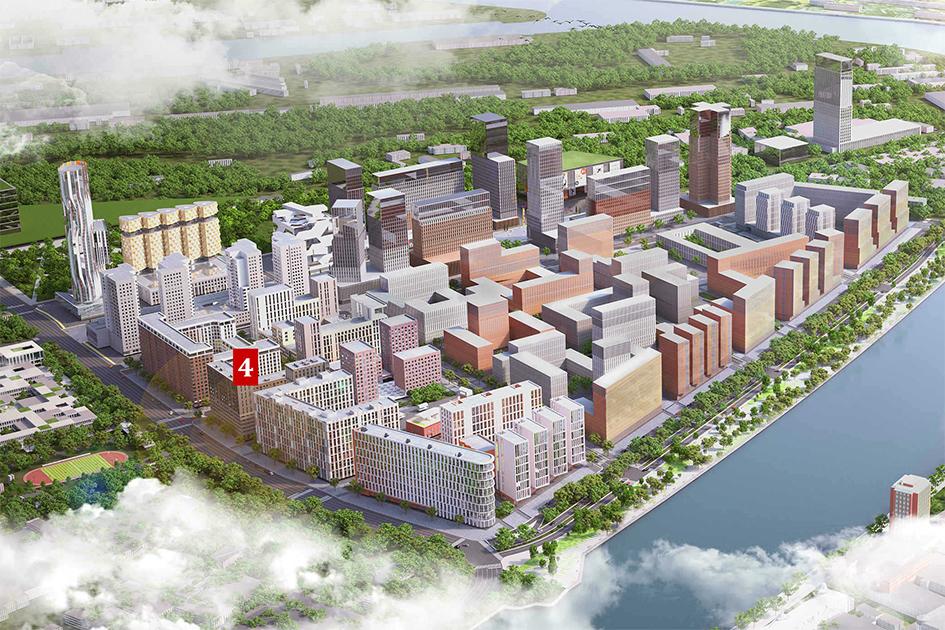 Особая отметка жюри вноминации «Лучшая архитектура высотного жилого строительства»: жилой комплекс «Зиларт»  Девелопер: «Группа ЛСР»