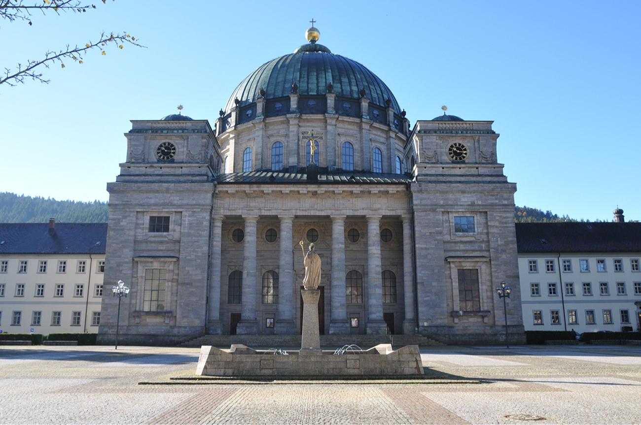 Аббатство Святого Власия в Санкт-Блазиене в Германии