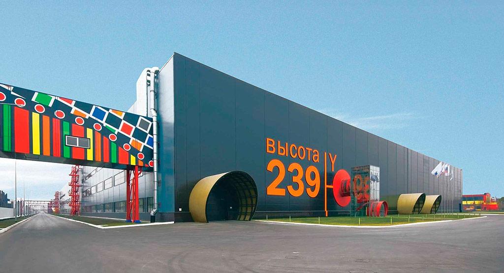 «Высота 239», Челябинск, 2010  Авторы проекта: Сергей Илышев иВладимир Юданов, «Ё-программа»