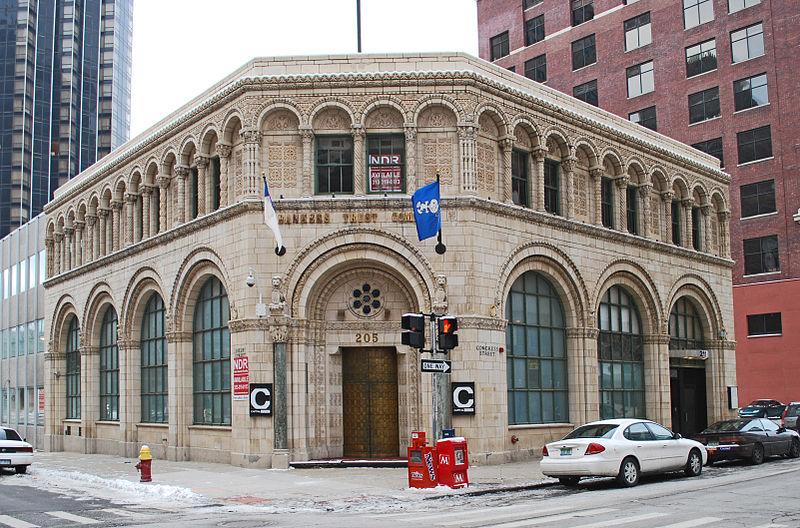 Здание Banker's Trust в Детройте