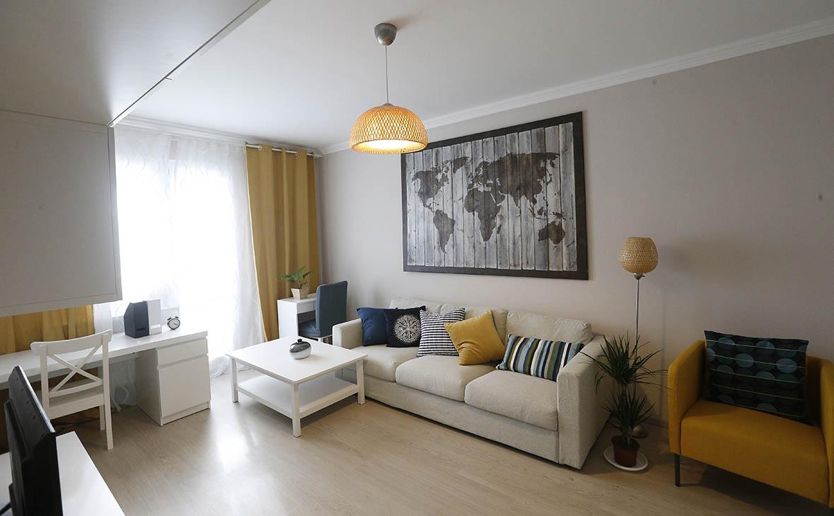 Обновленный шоу-рум по программе реновации жилья на ВДНХ