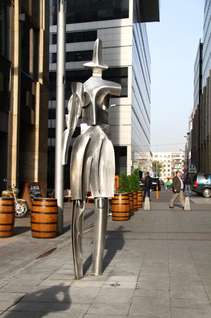 Скульптурно-пространственная композиция «Белый город»