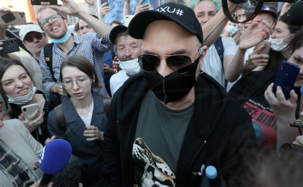 Кирилл Серебренников после оглашения приговора