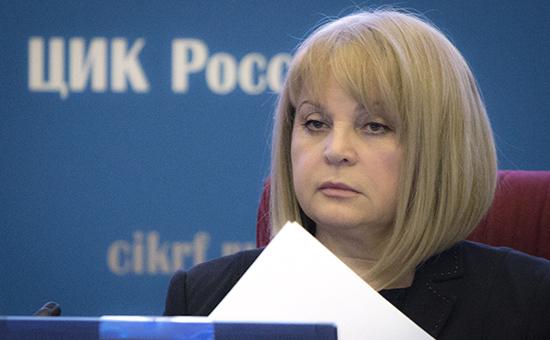 Экс-уполномоченный по правам человека Элла Памфилова